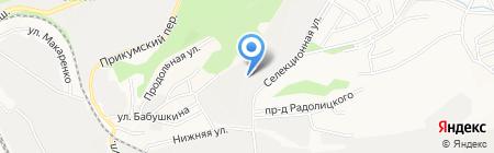 Стройпласт на карте Ставрополя