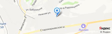 РАТЭК на карте Ставрополя