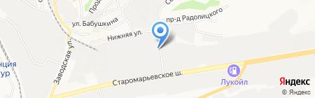 ЭлектроМаркет на карте Ставрополя