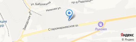 RenoStart на карте Ставрополя