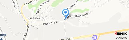 Мир тепла на карте Ставрополя