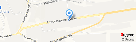 Ставропольский завод теплоизоляции труб на карте Ставрополя