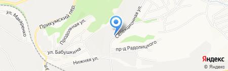 Торгово-производственная компания на карте Ставрополя