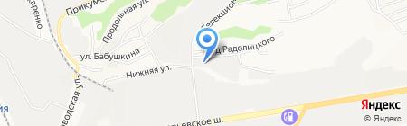Кератон на карте Ставрополя