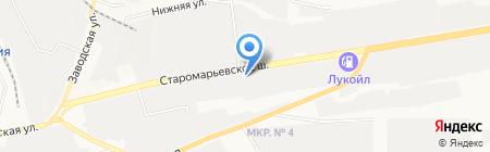 Центр Светодиодов на карте Ставрополя