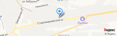 Стройхозмаг на карте Ставрополя
