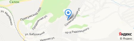 Р и К на карте Ставрополя