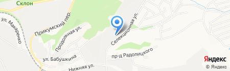 Рабочий формат на карте Ставрополя