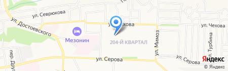 Сеньор помидор на карте Ставрополя