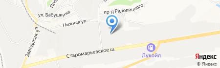 OfficeCorp.ru на карте Ставрополя