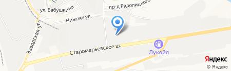 Буст на карте Ставрополя
