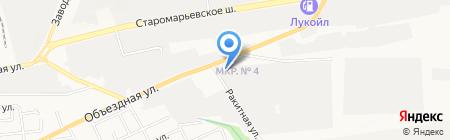 Универсал-Групп на карте Ставрополя