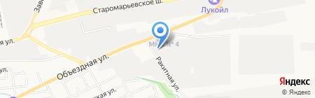 Гранд на карте Ставрополя