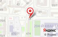 Схема проезда до компании Клининг-Контроль в Ставрополе