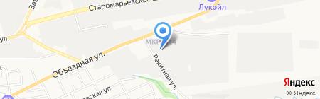 Любо мебель на карте Ставрополя