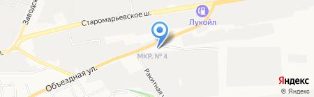 Российская Инструментальная Компания на карте Ставрополя