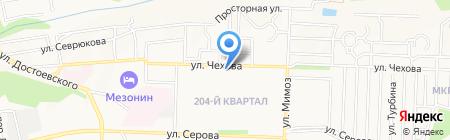 Рубеж-4 на карте Ставрополя