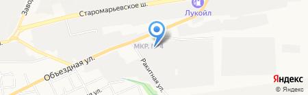 Техноарт на карте Ставрополя