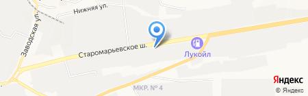 Matrix на карте Ставрополя