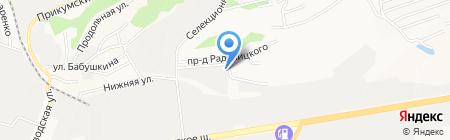 Экватор+ на карте Ставрополя