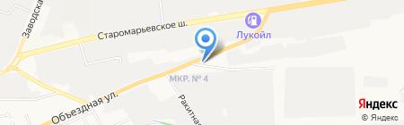 S.A.V. на карте Ставрополя