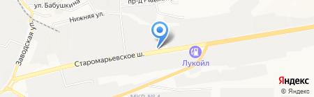 Пожарная часть №9 на карте Ставрополя