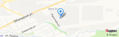 Кристи-Мебель на карте Ставрополя