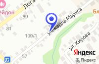 Схема проезда до компании МУ АЛЕКСАНДРОВСКАЯ МУЗЫКАЛЬНАЯ ШКОЛА в Александровском