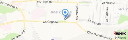 Младший Брат на карте Ставрополя
