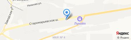 Жорж на карте Ставрополя