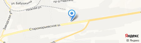 Инструмент на карте Ставрополя
