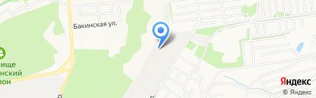 Кавказремстрой на карте Ставрополя