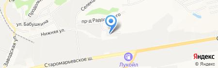 Интер Потолок на карте Ставрополя