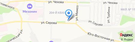 Банкомат Банк ВТБ 24 на карте Ставрополя