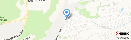Ледник на карте Ставрополя