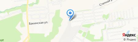 ЮНИТЕК на карте Ставрополя
