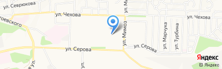 Детский сад №7 на карте Ставрополя