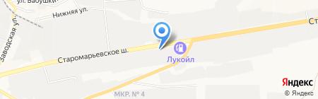 СОУ на карте Ставрополя