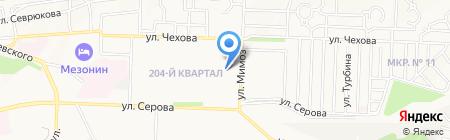 Сорванец на карте Ставрополя