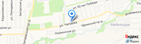 Транслэнд на карте Ставрополя