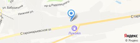 ЦАП на карте Ставрополя