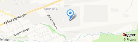 Цемент+ на карте Ставрополя