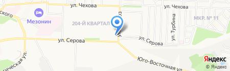 Лидерспорт на карте Ставрополя