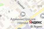 Схема проезда до компании Администрация г. Михайловска в Михайловске