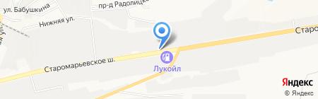 Аксель-К на карте Ставрополя