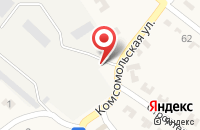 Схема проезда до компании ЕВРОГАЗ в Пелагиаде