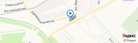 АЗС Роснефть-Ставрополье на карте Ставрополя