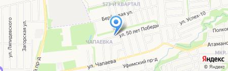 Свадебный кортеж на карте Ставрополя