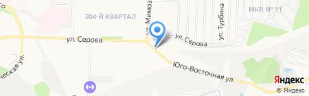 Лита на карте Ставрополя