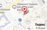 Схема проезда до компании Доверие в Михайловске